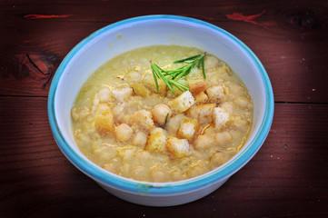 Zuppa di ceci, dieta mediterranea