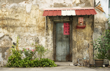 Old Door, George Town, Penang, Malaysia