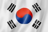 Fototapety South Korean flag