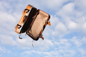 fliegender koffer