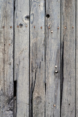 Wall of planks