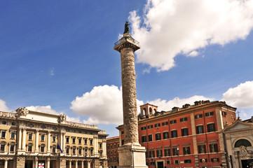 Roma, Piazza Colonna - Colonna di Marco Aurelio