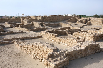 Excavated ancient Saar village