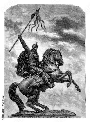 Equestrian Conqueror - 11th century