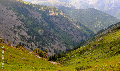 Mountains landscape of Altai, Siberia