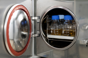 Esterilizador autoclave