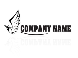 Hawk,Falcon,Eagle - vector company logo, sign, icon