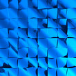 Futuristic abstract background in blue