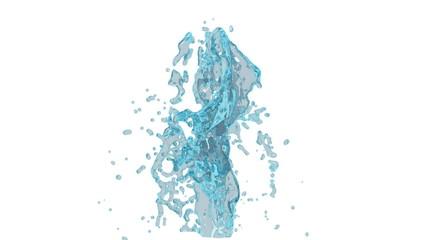 Dual water splash version 1