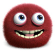 red hairy ball - 42517280