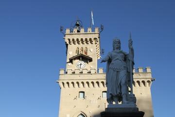 San Marino Piazza Libertà