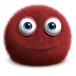 red hairy ball - 42518260