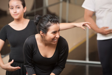 Dance Student Laughing