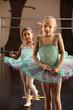 Two Ballerinas Standing