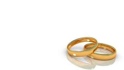 married gold rings, alianças de casamento