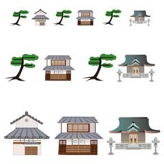 江戸の町並み City at Edo-age.