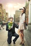 Fototapety Engagement proposal