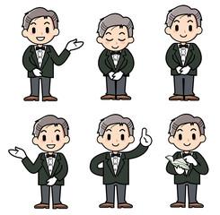 concierge - man - set