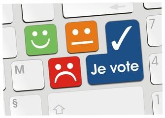 clavier je vote