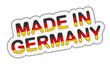 Sticker - Made In Germany