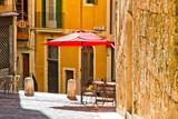 Fototapety Kleines Gasse in Palma