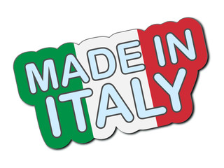 Sticker - Made In Italy