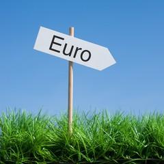 Schild, Euro