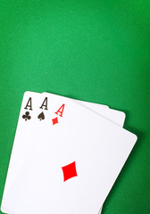 Card for poker