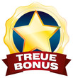 treuebonus treue-bonus gold stern button