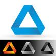 Logo, Icon - Dreieck Set