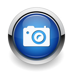 digital camera web blue button