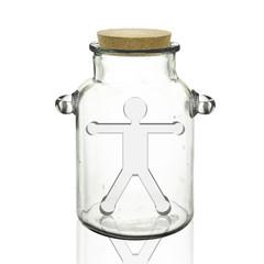瓶中の人形
