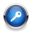 key web blue button