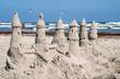 Fototapeten,stranden,schloss,sandburg,sommer
