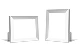 Multifunction empty white frames. Vector for your design. poster
