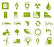 Umwelt Symbole