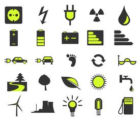 Green Enviroment Icons
