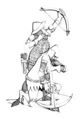 Crossbowmen, Arbalétriers, Armbrustschütze - 14th