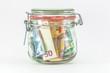 Geldanlage - Einmachglas