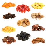 Dried fruit collection