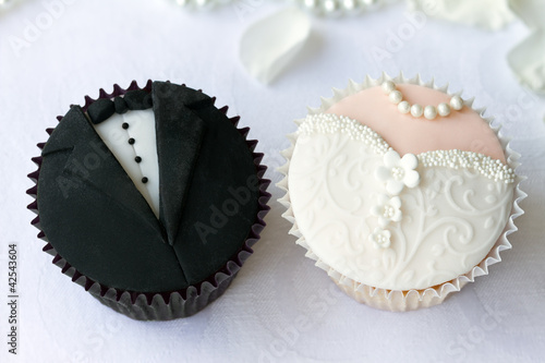 Papiers peints Biscuit Wedding cupcakes