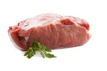carne roja aislada