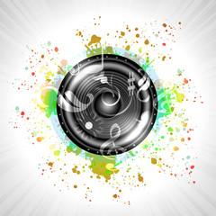 Image of music speaker