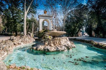 Fontaine de la Villa Borghese, Rome