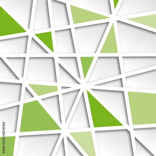 Messy Abstract Green  Background # Vector