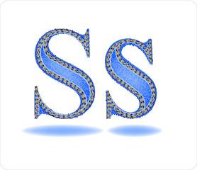 Буква S