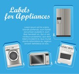 Appliances labels