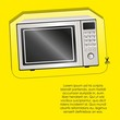 Illustration of a microwave label