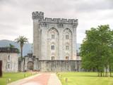 castillo de arteaga,vizcaya,españa poster