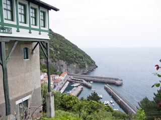 puerto de elantxobe , vizcalla,españa